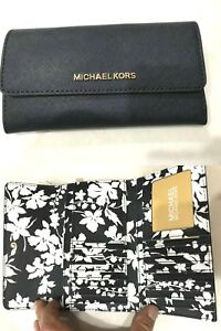 Michael-Kors-Jet-Set-Travel-LG-Continental-Trifold-Wallet-Saffiano-Leather-Navy