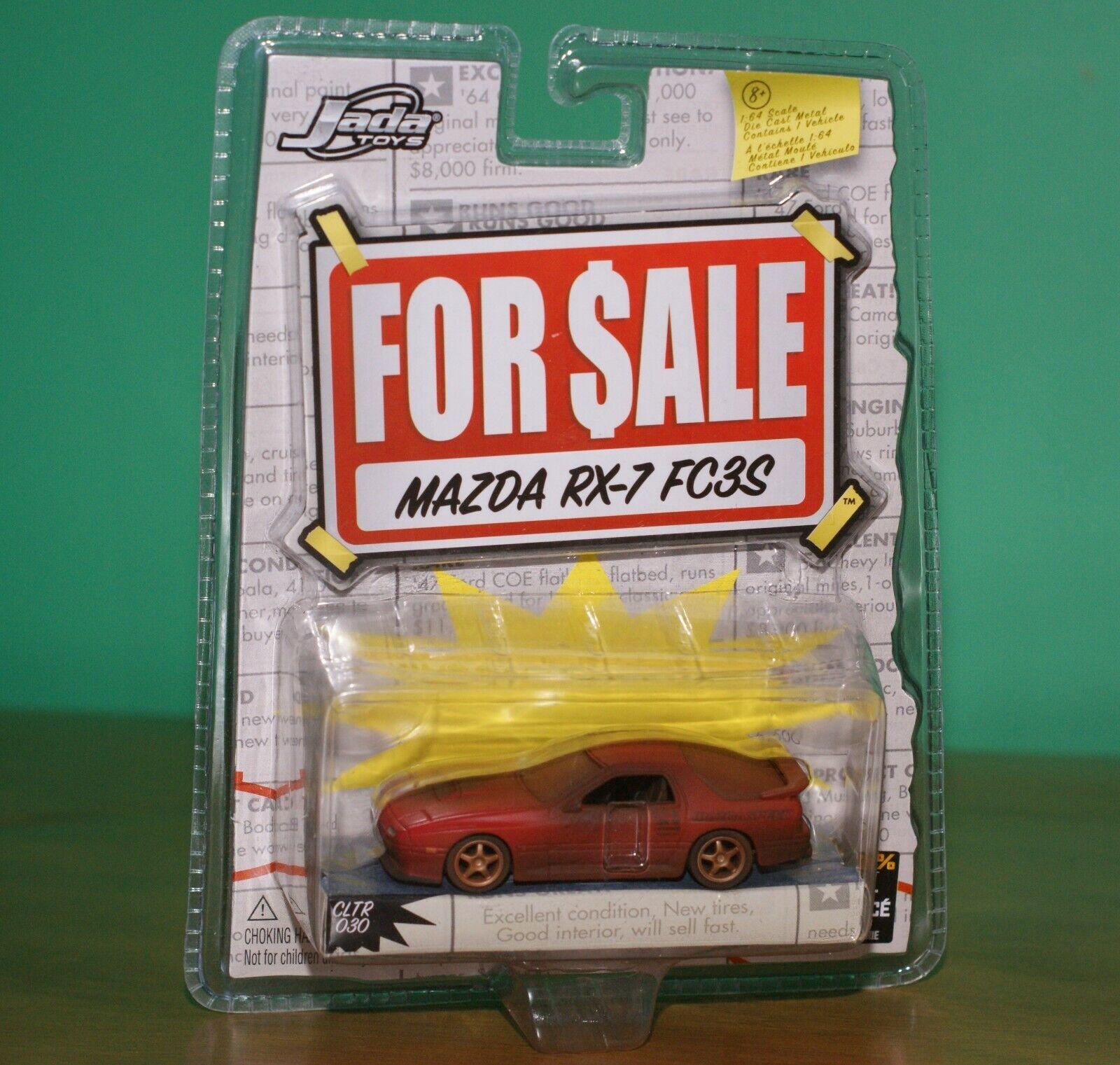 Mazda RX-7 FC3S Tuner Muscle Car 1 64 Jada For Sale Diorama Barn Find Diecast
