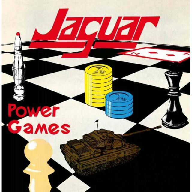 JAGUAR - Power Games (NEW*LIM.DIGIPAK ED.*NWOBHM/SPEED METAL CLASSIC)