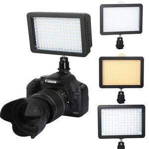 Cámara De Video Pro Wansen W126 126 Led Luz De Disparo De Para Cámara Nikon Canon Sony Ebay