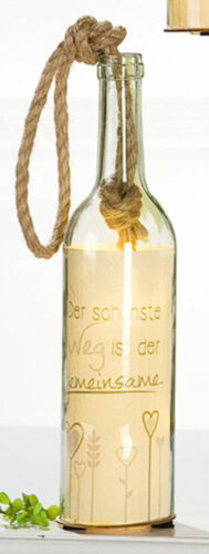 Gilde Flaschenpost 5-Led Herz und Glück
