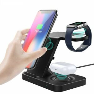 Multi-functional-5-in-1-Wireless-Charger-Dock-For-QI-Models-and-Earbuds-Pro-2