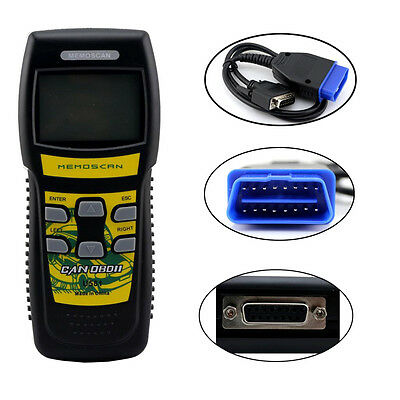 U581 OBD OBD2 Vehicle Trouble Code Reader Scanner CAN-BUS Diagnostic Cable Tool