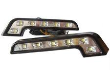 L Shape DRL High Power LED Lights Lamps For Nissan Navara D22 D40 Primera