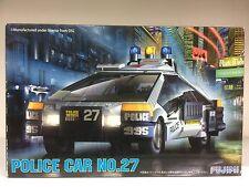 Fujimi 091365 1/24 Scale Blade Runner Spinner Deckard Police Car No. 27 Model JP