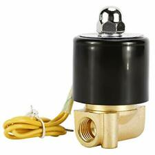 Electric Solenoid Valveac110v2way Normally Closed Valve For Air Water Gas Fuel