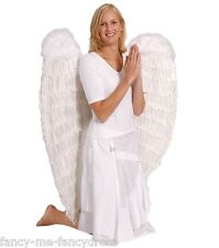 Extra-Large  37-Inch 100cm Angel Feather Wings Fancy Dress Costume Accessories