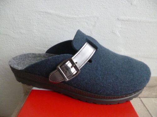 Le Pantofole Morbido Nuovo Pantofola Filzfußbett Feltro Rohde Signore Blu vtZXw8qddn