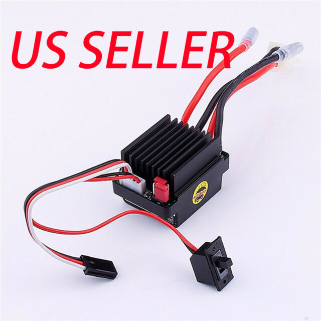 Brushed ESC High Voltage 320A Waterproof Brushed ESC Electric Speed Controller with Fan for RC Model