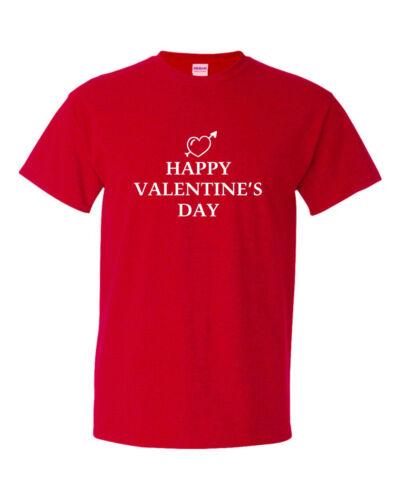 HAPPY VALENTINE/'S DAY funny mens t shirt  valentine day gift fun humour sarcasm