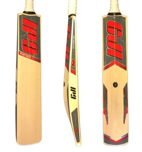 CJI FATSO F500 CRICKET BAT FULL SIZE SH RED Weight 2lb 10ozs Knocking In Option