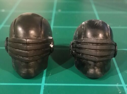 "Joe Snake-Eyes UnPainted head Cast Articulated Icons scale 6/"" Custom Sculpt G.I"