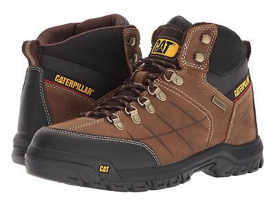 Men Caterpillar Threshold Waterproof Work Boot P74128 Brown Leather 100%Original | eBay