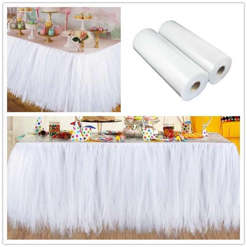 """5x Tulle Roll Spool 12/""""x100YD Tutu Fabric Craft Gift Wrap Wedding Bow DIY Decor"""
