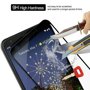 For-Google-Pixel-3a-G020A-Full-Cover-Tempered-Glass-Shockproof-Screen-Protector
