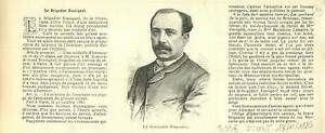 PORTRAIT-BRIGADIER-ROSSIGNOL-SURETE-NATIONALE-1886-GRAVURE-ANTIQUE-PRINT