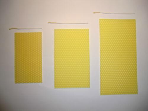 Präsent für Ihre Mailing Aktion Bienenwachs Kerzen Bastelset als Geschenk