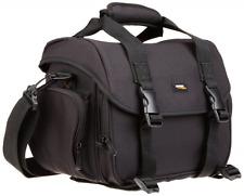 AmazonBasics DSLR borsa tracolla gadget grande con interno arancione