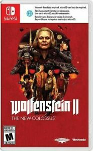 Wolfenstein-II-The-New-Colossus-Nintendo-Switch-2018-NEW-NIB