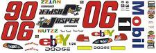 #06 Travis travil Jasper - Ebay Dodge 2004 Rookie Year 1/24th - 1/25th Decals