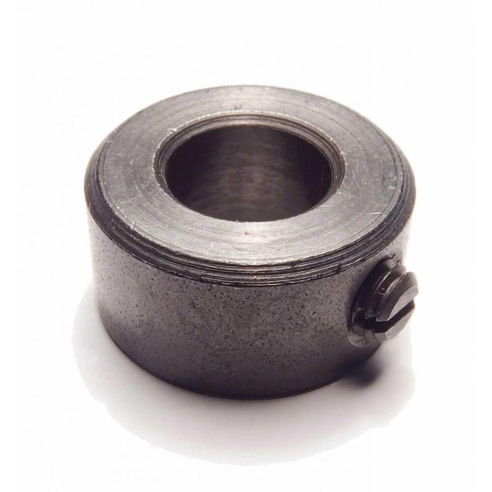 DIN 705 Stellringe, leichte Reihe Stahl blank, Form A