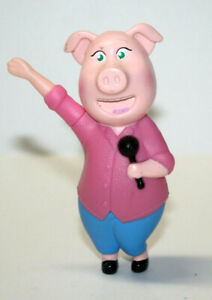 Details About Mcdonalds Happy Meal Toy Movie Sing Rosita Pig Cake Topper 4 Tall