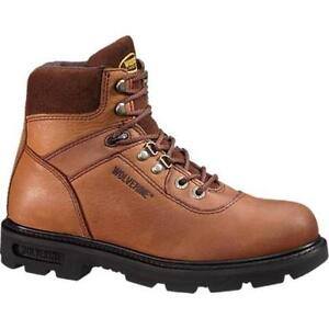 "Wolverine RENTON EPX™ PC DRY WATERPROOF COMPOSITE-TOE 6/"" WORK BOOT"