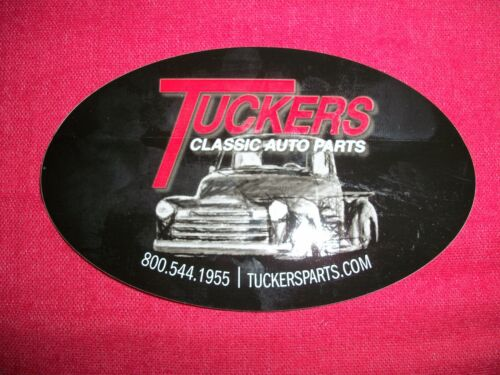 Tuckers Classic Auto Parts Sticker Decal Custom Cars Hot Rods Race Cars