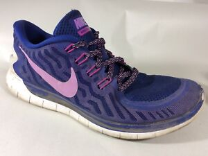 huge selection of 024da f3382 Image is loading NIKE-FREE-5-0-Purple-Womens-10-M-