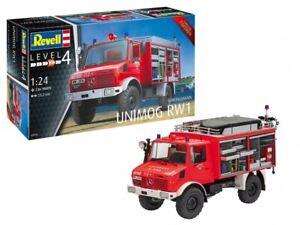 Revell-07531-schlingmann-bomberos-Unimog-rw1-1-24-kit-Limited-Edition