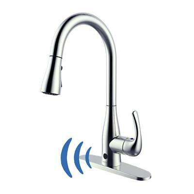 Flow Motion Sensor Kitchen Faucet - Chrome | eBay