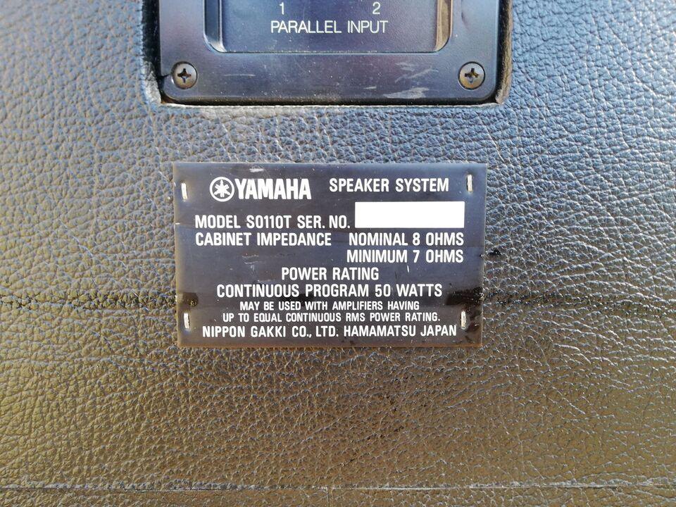 Højttaler, Yamaha, S0110T PA
