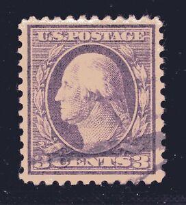 ESTADOS-UNIDOS-Sello-501-3c-Washington-Franklin-Definitivo-1917-Usado