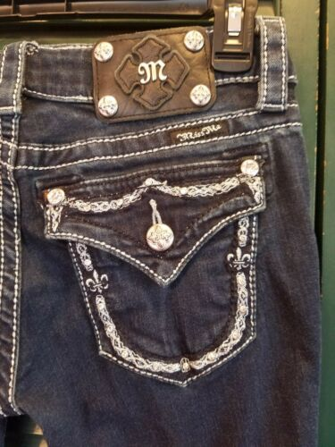 Bootcut Me Womens Størrelse Jeans Miss 25 Ny Bling aEUzqOOx