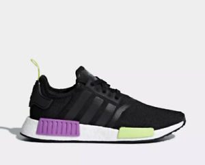 618d67633ae0 New Adidas Men s Originals NMD R1 Shoes (D96627) Black  Black-Shock ...