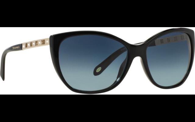 TIFFANY & CO . - sunglasses - TF4094B 80019S - ATLAS PEARL -  Black / Grad Blue