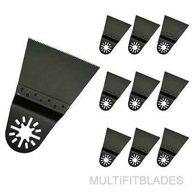 "Milwaukee Multi Tool Compatible 3 x 3//4"" Fine Tooth Oscillating Tool Blades"