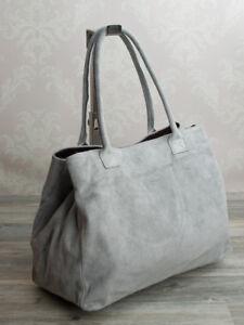 Bandoulière Shopping Italien Cuir Gris Sauvage Femmes 624hg En Clair Sac U0xxnAWH
