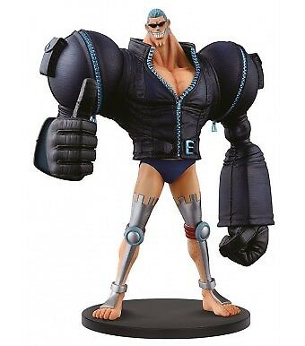 One Piece Figurine DXF Grandline Men gold Vol 5 Franky 17cm