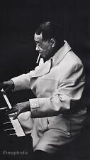 1967 Vintage 16x20 DUKE ELLINGTON ~ Music Composer Piano Jazz ~ PHILIPPE HALSMAN