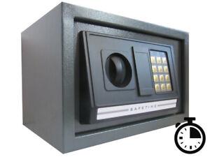Elektronischer Tresor SafeTime mit Zeitschloss Funktion