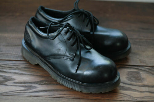 Solovair Dr. Martens NPS made in England steel toe