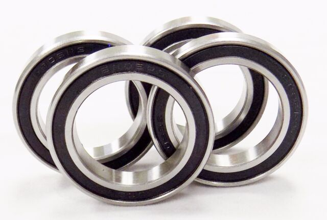 6 6906-2RS Premium EMQ Ball Bearing 30x47x9mm Double Seal 6906-RS 61906-2RS