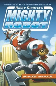 Ricky-Ricotta-039-s-Mighty-Robot-Pilkey-Dav-New