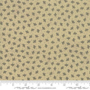Moda-Quilt-Fabric-Home-Falling-Leaves-Kathy-Schmitz-color-Oat-by-yd-7014-14