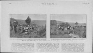 1901-Antique-Print-IRELAND-County-Wicklow-German-Quick-Fire-Gun-Camp-42