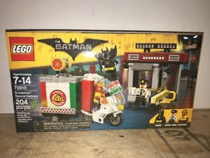 Scarecrow Special Delivery 204 pcs New Sealed LEGO 70910 The Batman Movie