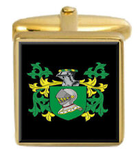 Johnson Family Crest Surname Coat Of Arms Brown Leather Keyring Engraved