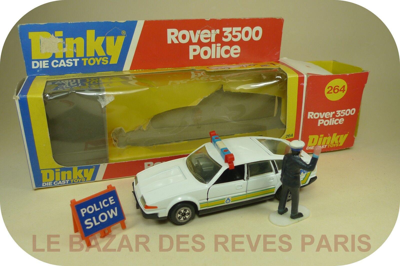 DINKY TOYS GB.  ROVER 3500 POLICE + boite.   REF  264.