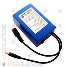 Batteria a Litio Ricaricabile Compatta ON-OFF 12V Volt  6.8AH Charger 12.6V 1AH